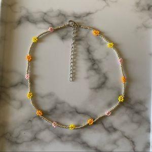 Dainty California Sunset choker necklace
